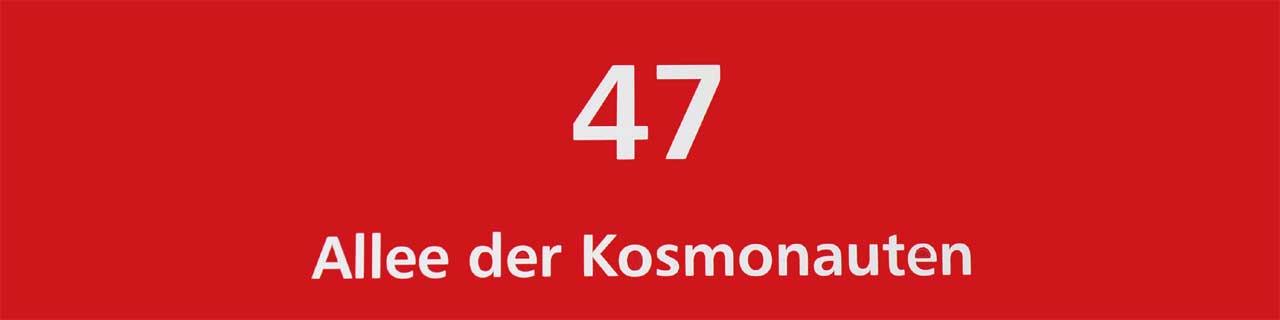 Allee der Kosmonauten 47