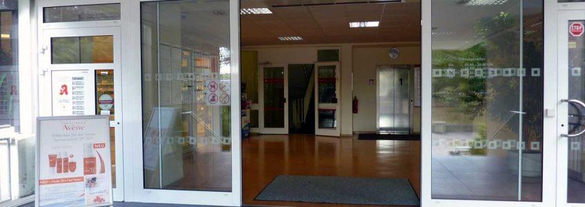 Gesundheitszentrum Springpfuhl - Eingangsbereich